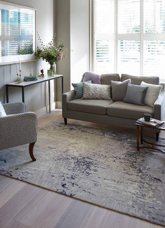 This Area Rug Produced By A British Designer Makes Statement In The Space And Reflects