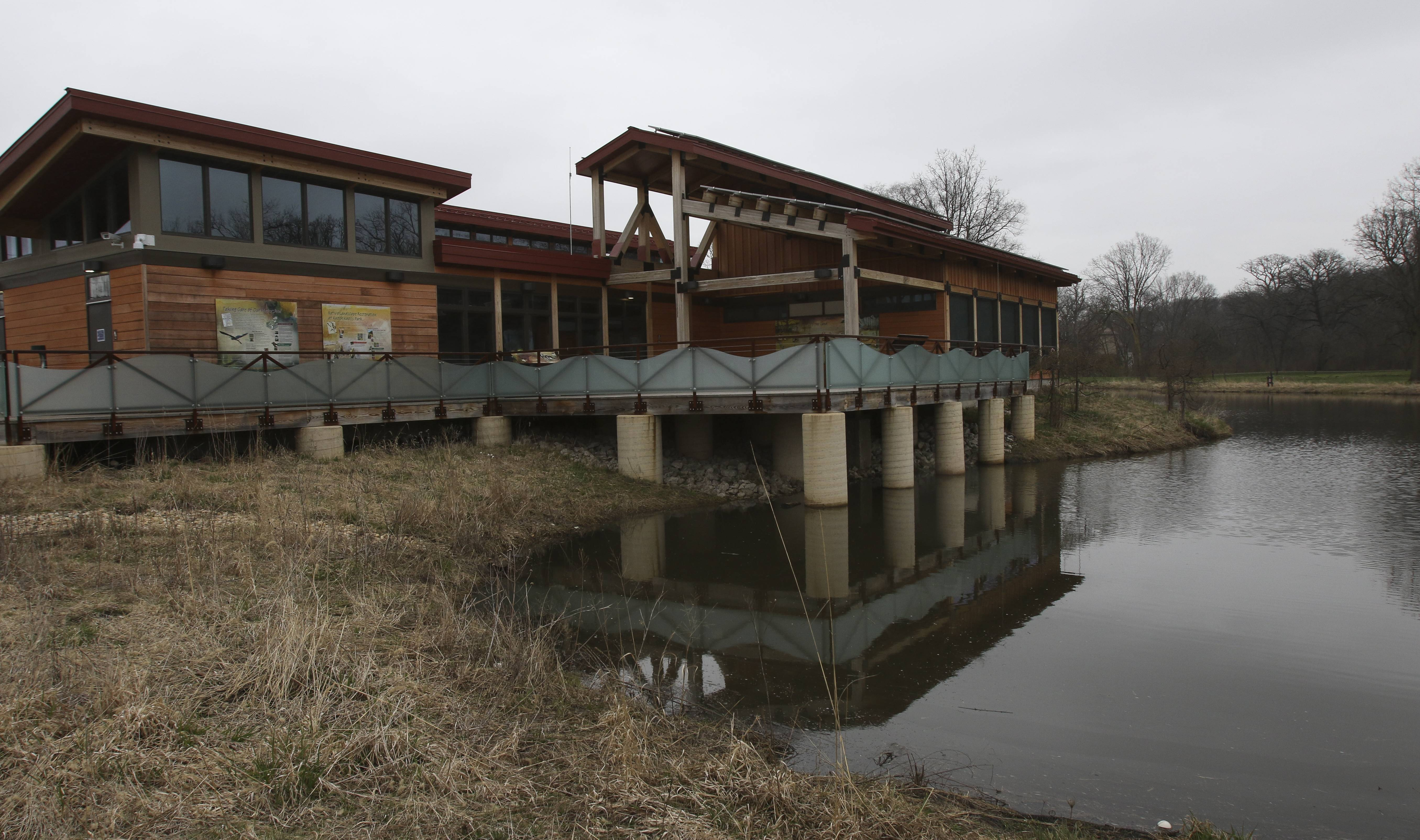 Flooded Naperville nature center closed for 4-6 weeks