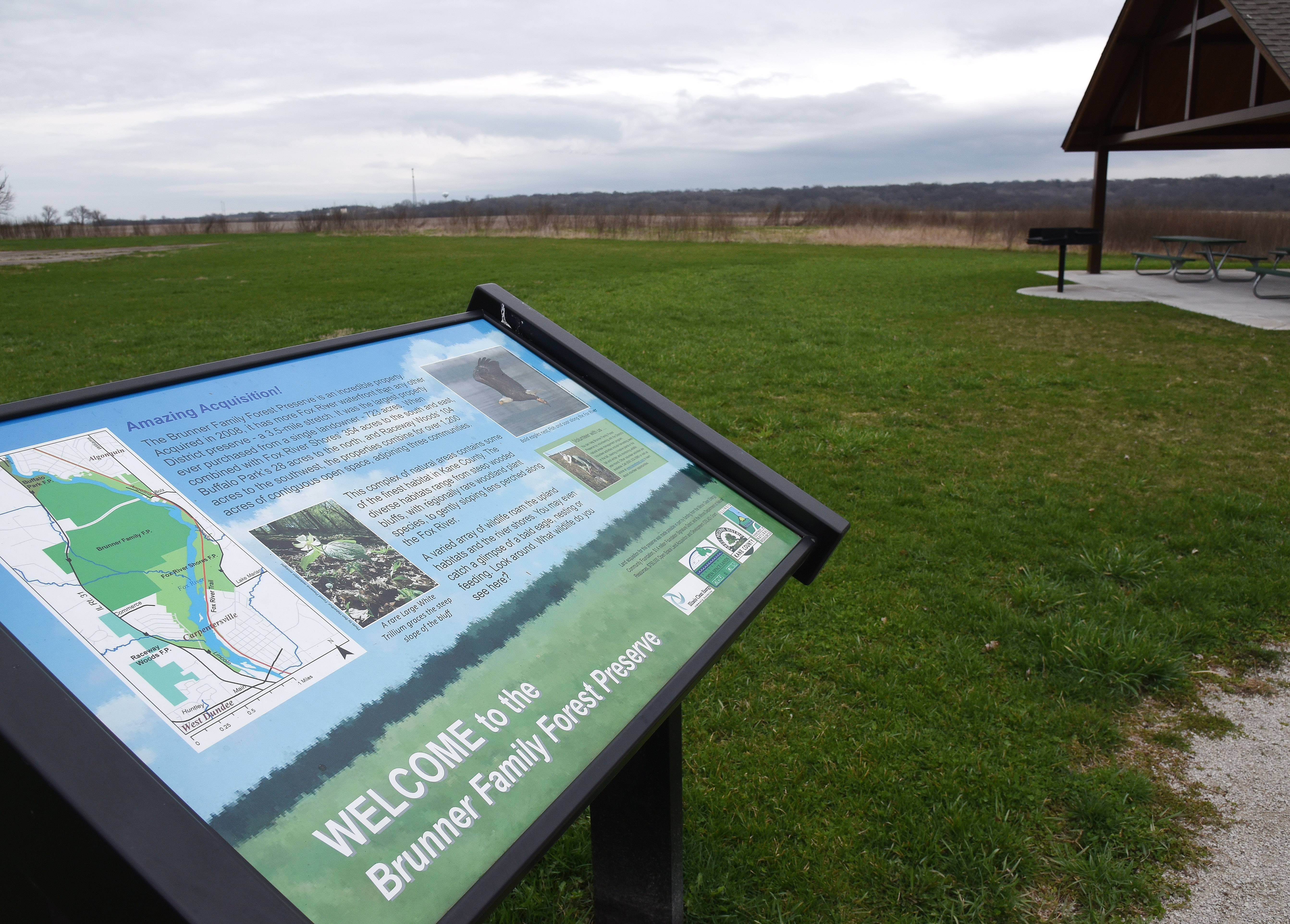 Brunner Family Forest Preserve in Carpentersville was a major recent acquisition by the Kane County Forest Preserve District, which was seeking voter approval to borrow $50 million to buy about 2,000 new acres.