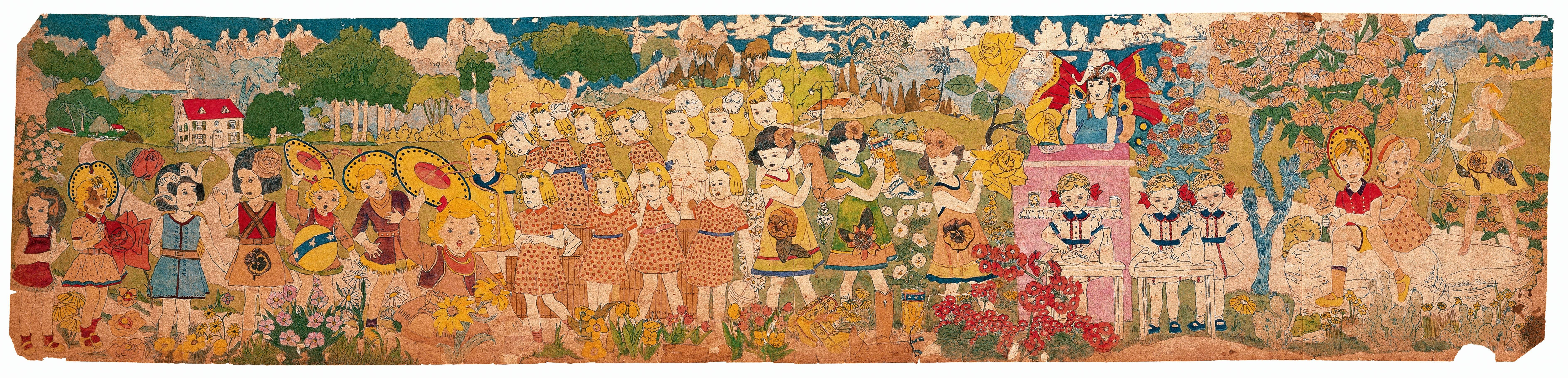"See Henry Darger's ""Untitled"" when Chicago's Intuit: The Center for Intuitive and Outsider Art opens ""Betwixt and Between: Henry Darger's Vivian Girls"" on Wednesday, April 12."