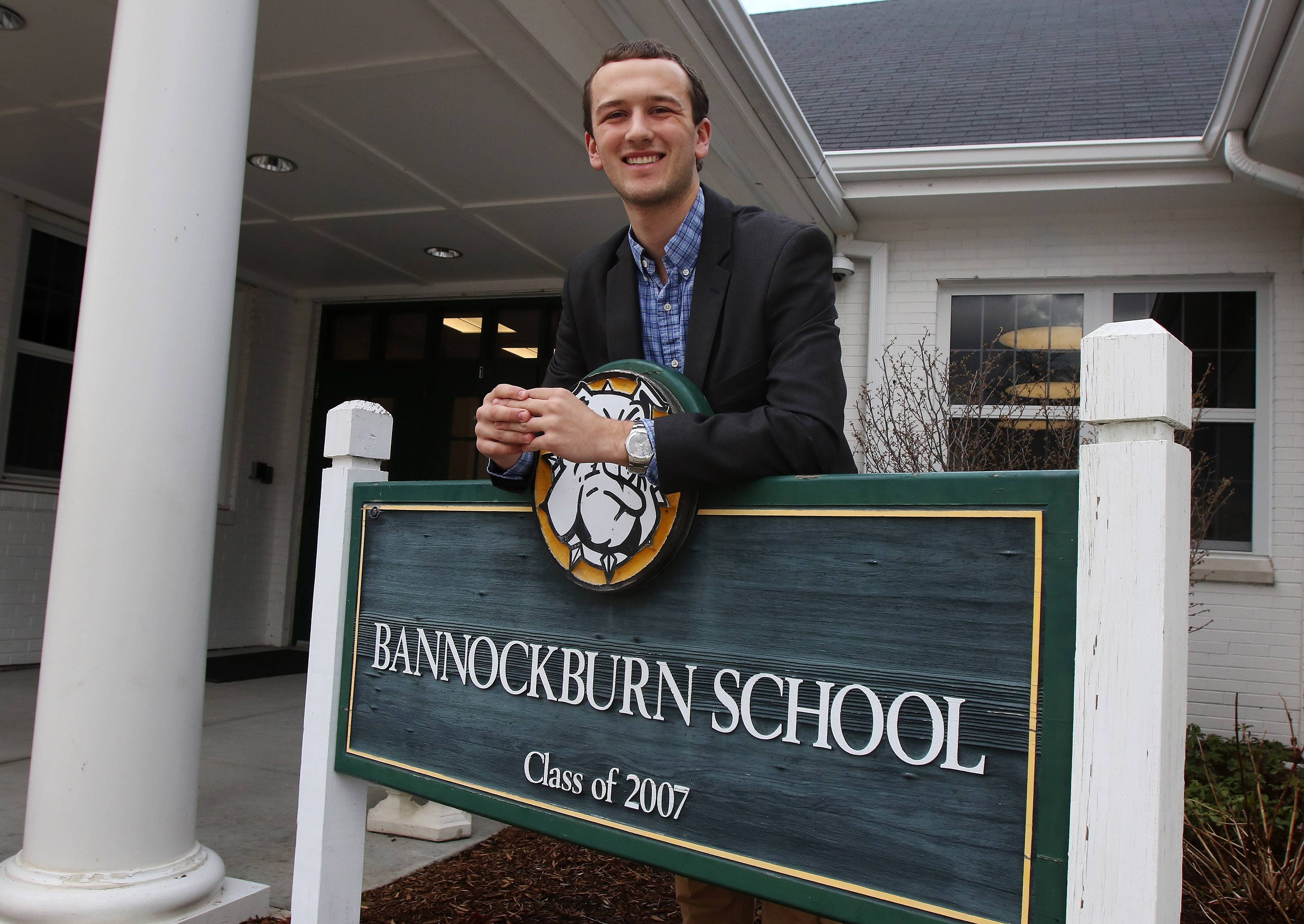 Jake Leahy was barely 18 when he was elected to the Bannockburn Elementary District 106 board last week.