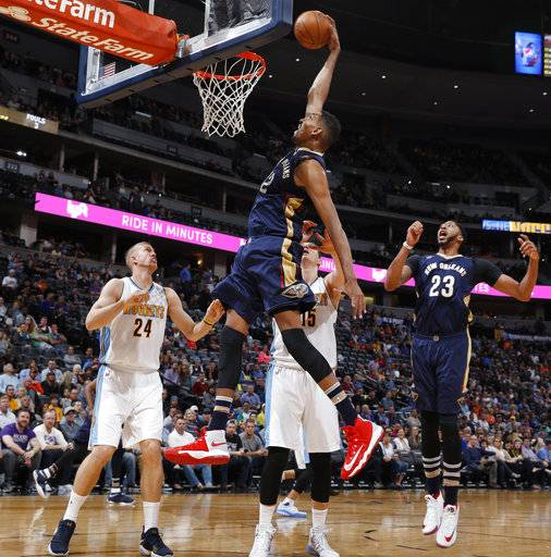 Murray Scores Career-high 30, Nuggets Beat Pelicans 122-106