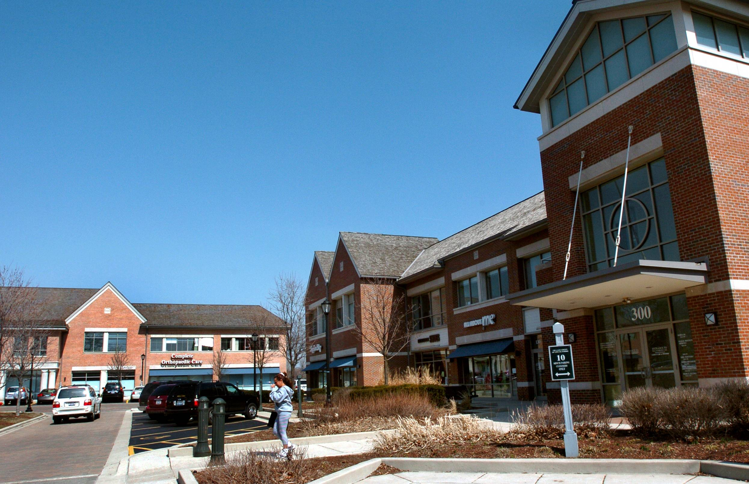 The Village Green shopping center is one of the main retail attractions along Milwaukee Avenue in Lincolnshire. Village officials are considering hiring a consultant to craft a development plan for the retail, office and residential developments along the busy road.