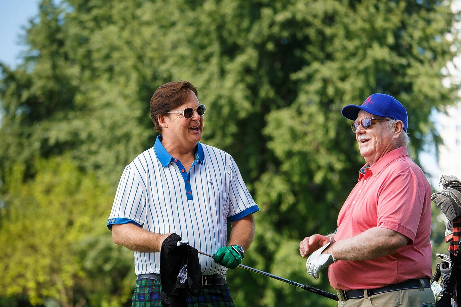 Carving out acting careers in an acting family dominated by the legendary Bill Murray, brothers Joel Murray, left, and Brian Doyle-Murray are partners with Bill and brothers Ed and Andy in a clothing line called William Murray Golf.