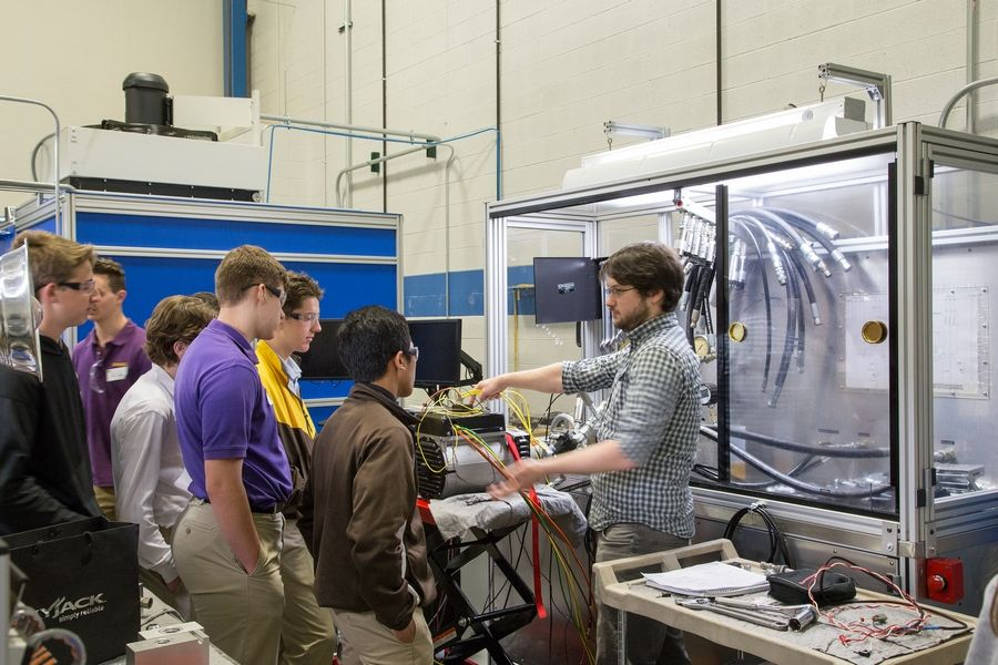 HydraForce hosts STEM event for Carmel engineering students