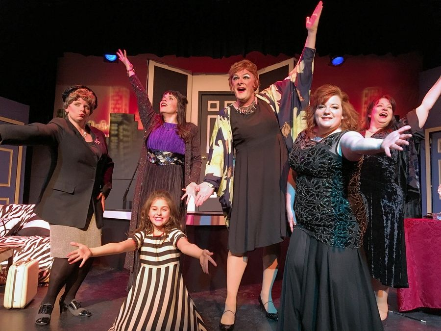 "A devious (and murderous) cast of characters jockey for the spotlight in ""Ruthless! The Musical"" at Steel Beam Theatre in St. Charles."