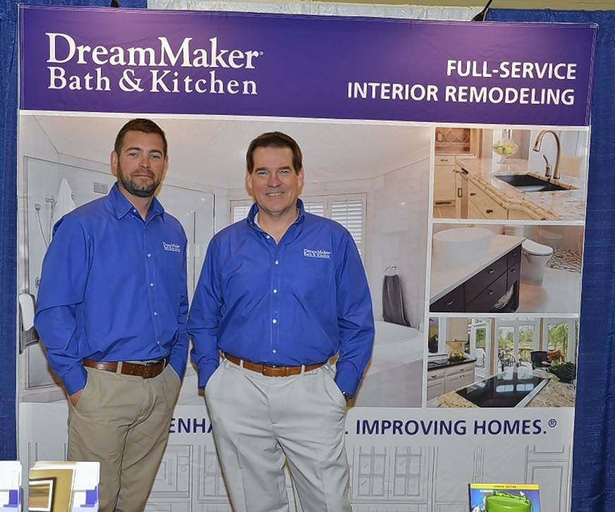 Jason Derouin, left, and father-in-law Mike Aukerman own and operate DreamMaker Bath & Kitchen. They will host a grand opening of their new state of the art design center at 1000 Butterfield Road in Vernon Hills at 5 p.m. to 7 p.m. on Thursday, April 20.