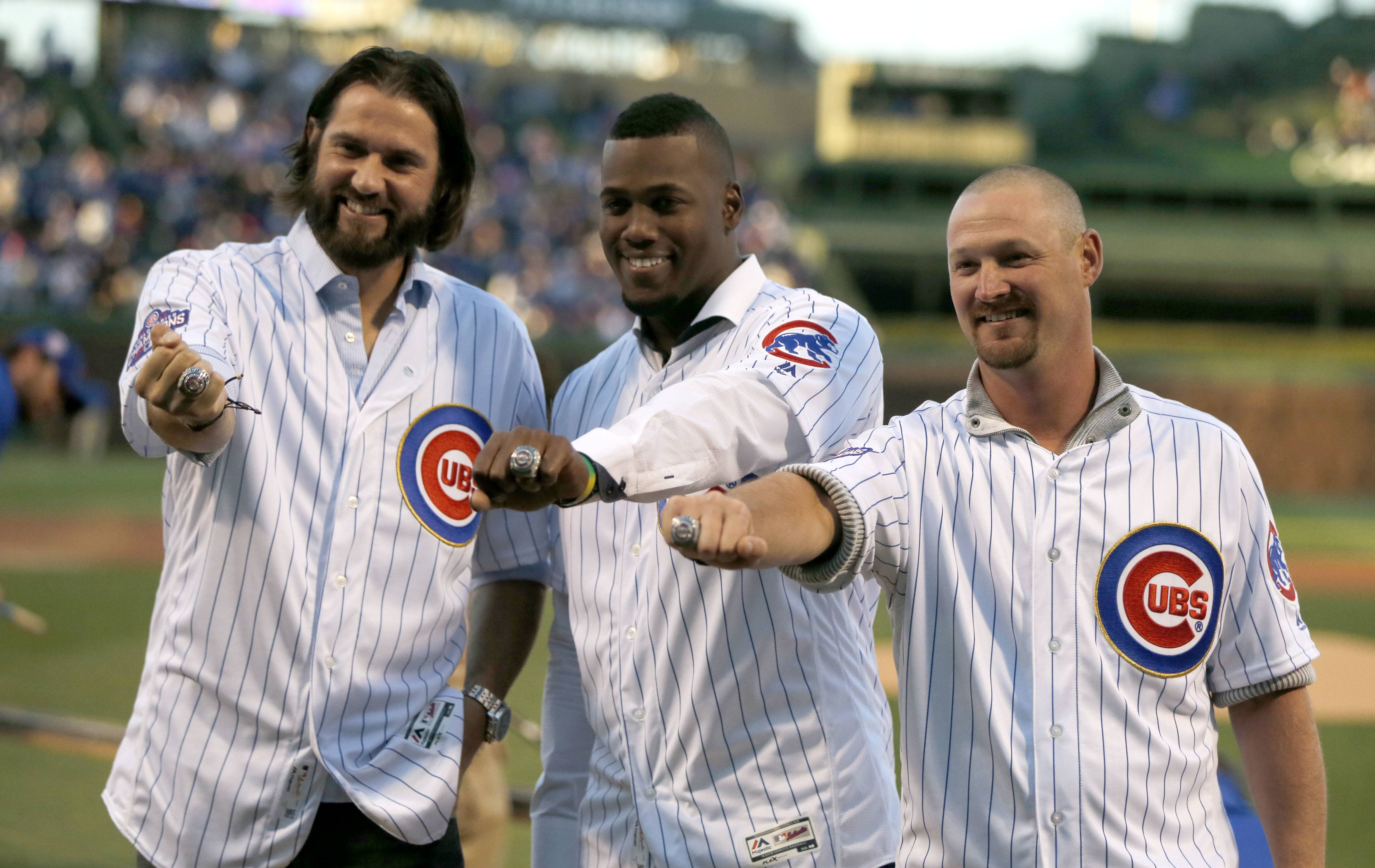 Chicago Cubs happy to welcome back three friends