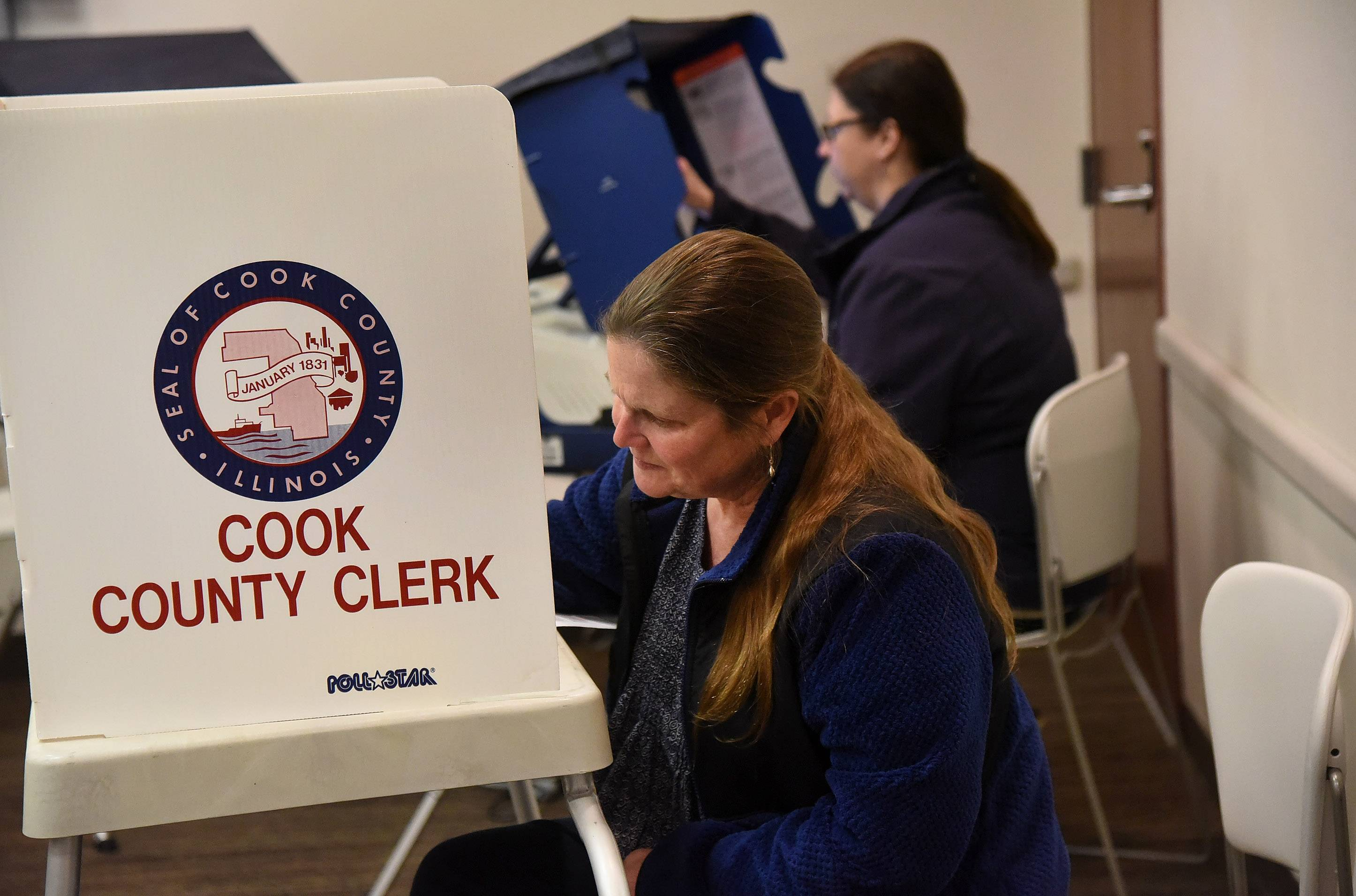Suburban voter turnout down, hot races or not