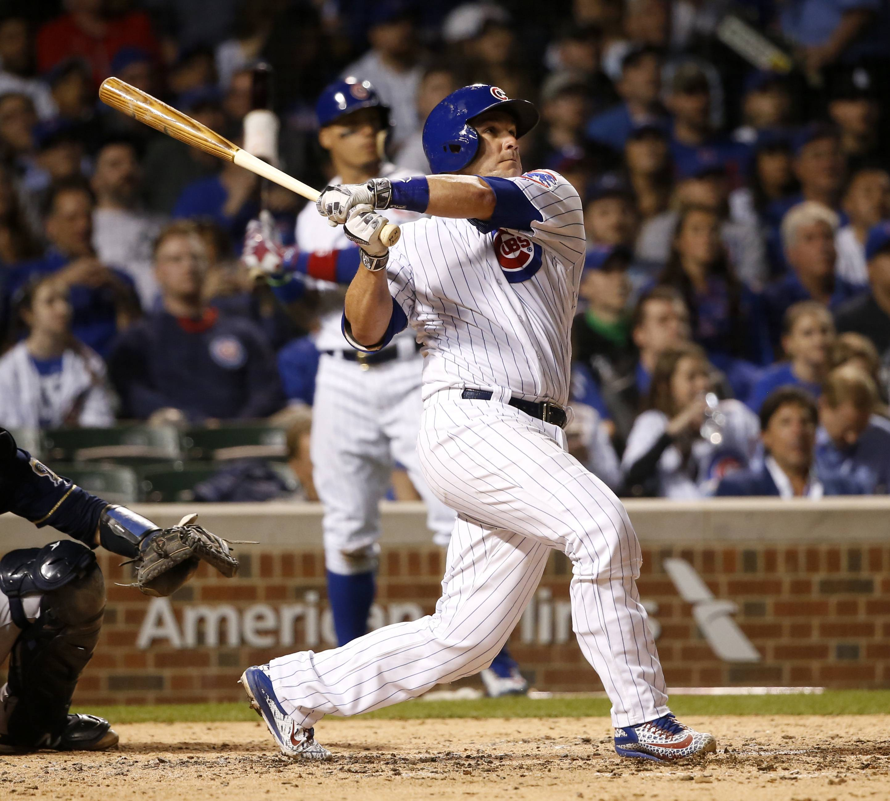 Cubs back to .500 with win over Brewers