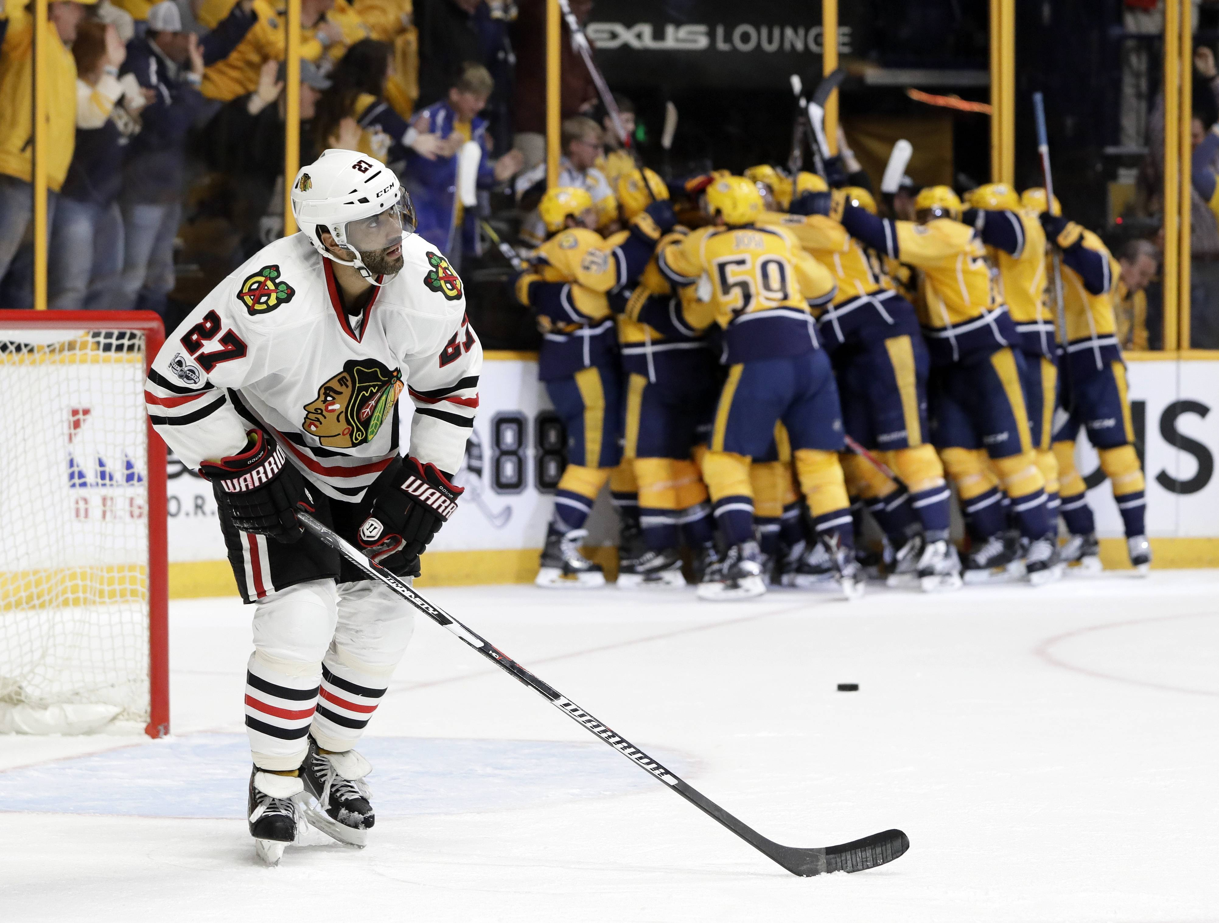 Rozner: Suddenly, Blackhawks looking old, slow