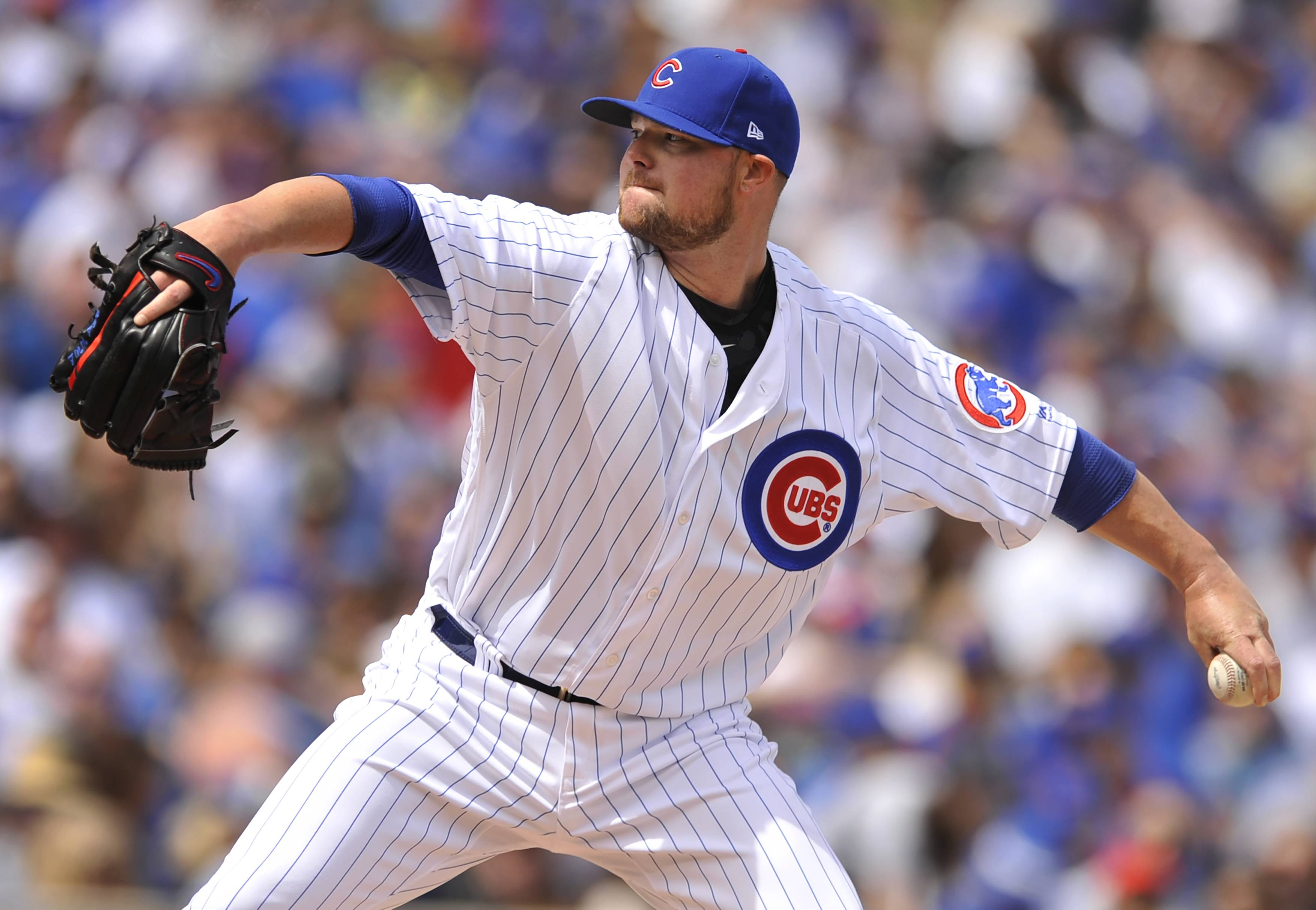 Chicago Cubs manager Joe Maddon has juggled the pitching rotation, flip-flopping Jon Lester and Jake Arrieta for this weekend's series at Cincinnati.
