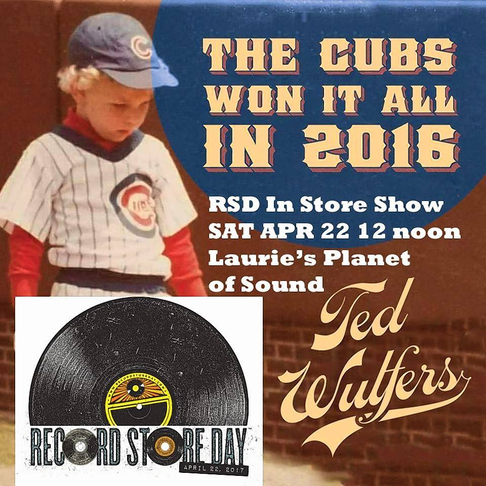 Ex-Arlington Heights resident Ted Wulfers, whose boyhood photo graces this record image, has always been a Cubs fan.