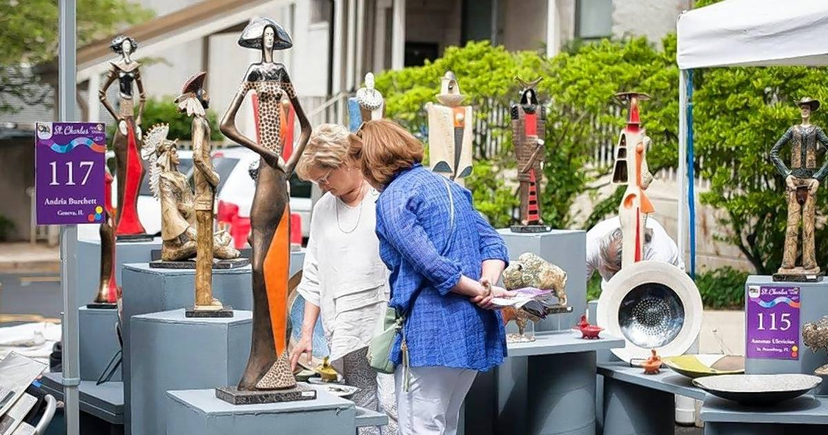 st charles fine art show returns for 19th year