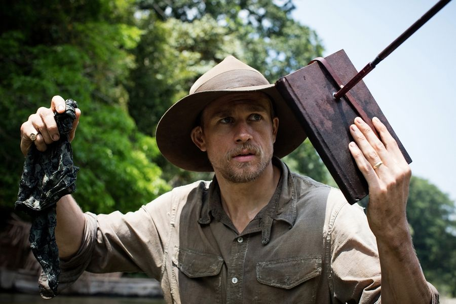 "Charlie Hunnam stars in ""The Lost City of Z."""