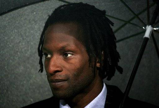 FILE - This Aug. 26, 2010 file photo shows Ugo Ehiogu in Birmingham, England. Ugo Ehiogu, the former England defender who was a coach of Tottenham's under-23 team, died Friday April 21, 2017, after suffering a cardiac arrest. He was 44. (Nick Potts/PA via AP)