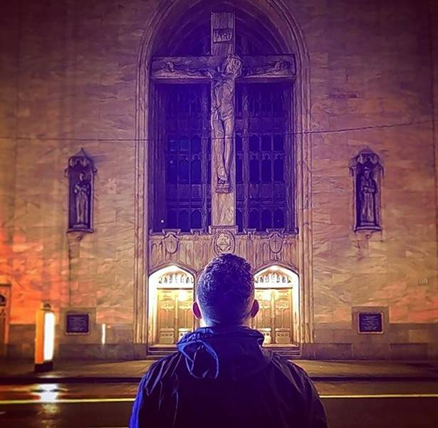 Ethan Roser, 19, posted this photo on his Instagram page about a month before he died. He was studying theology at Wheaton College and is being remembered for his strong faith.