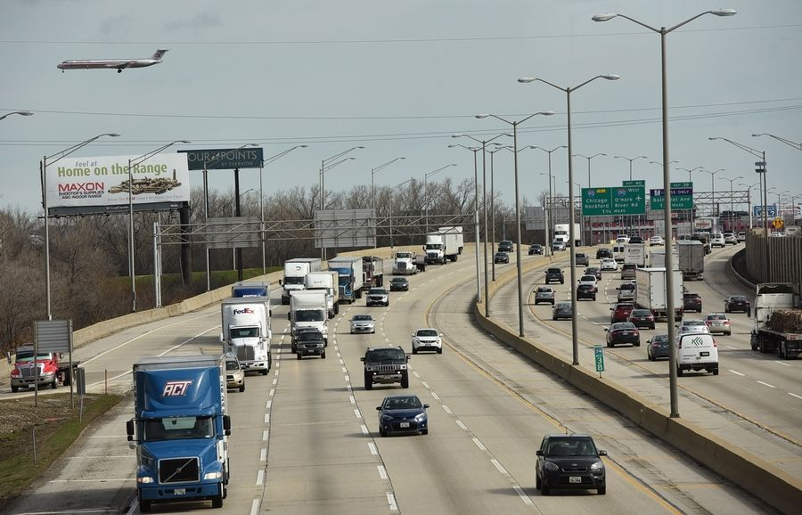 The Illinois tollway is considering plans to widen the Central Tri-State Tollway.
