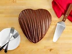 Heart Shaped Portillos Cake