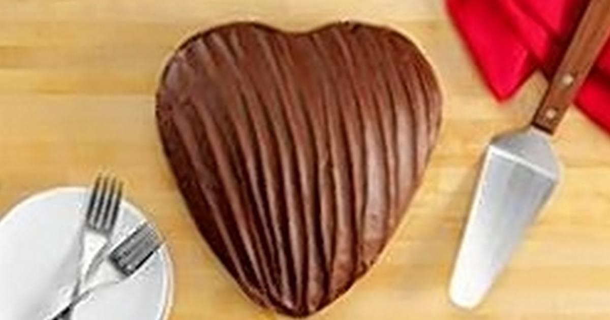 Heart Shaped Chocolate Cake Portillos