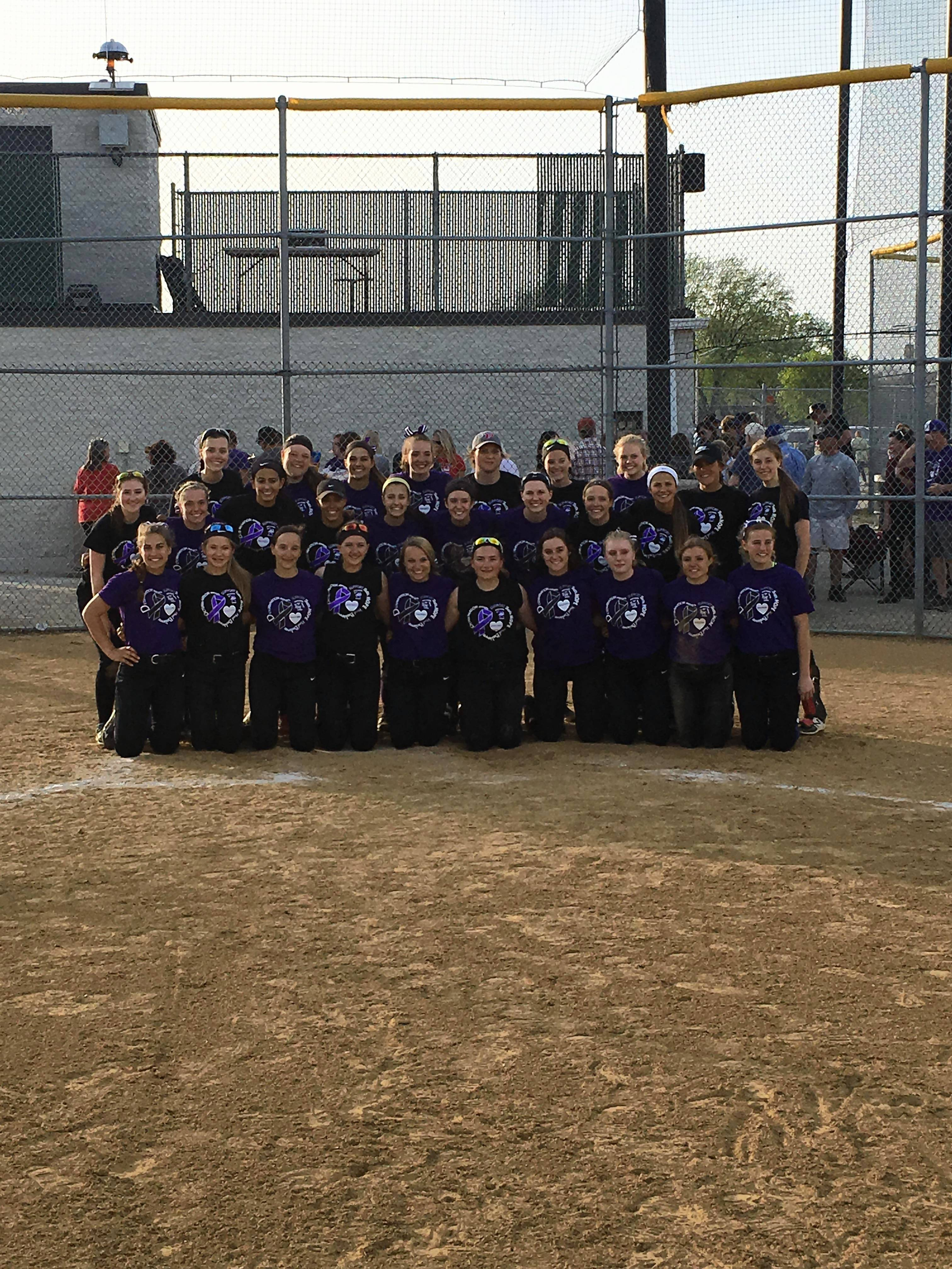 Softball: Palatine, Rolling Meadows team up on important mission