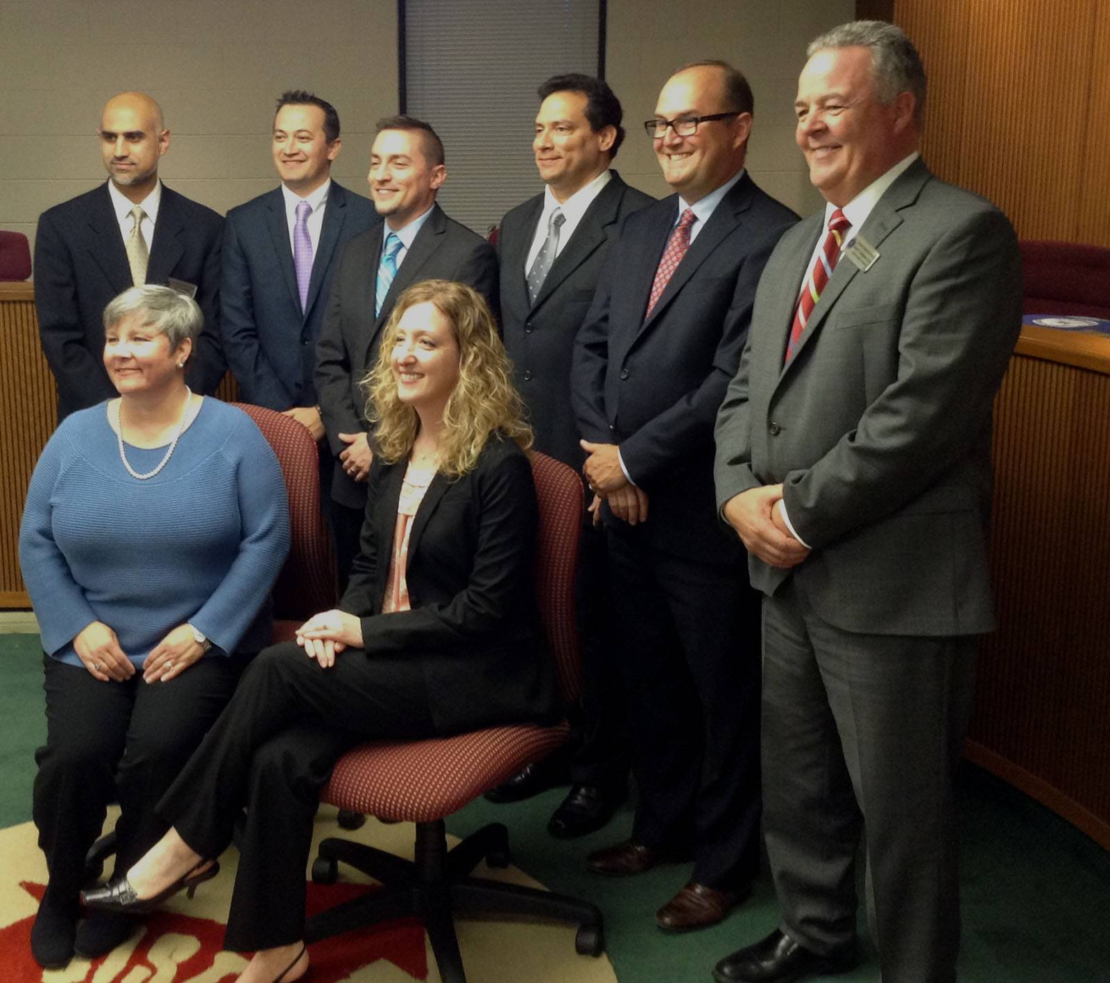 New District 15 board majority takes office
