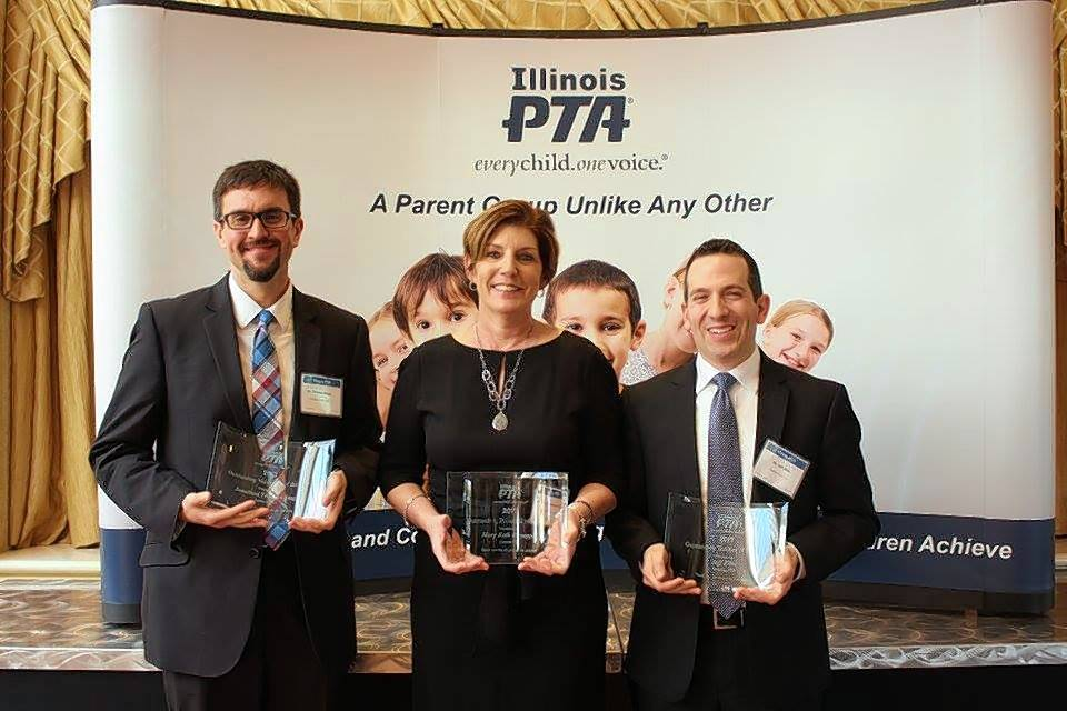 Two District 15 educators named top in state by PTA