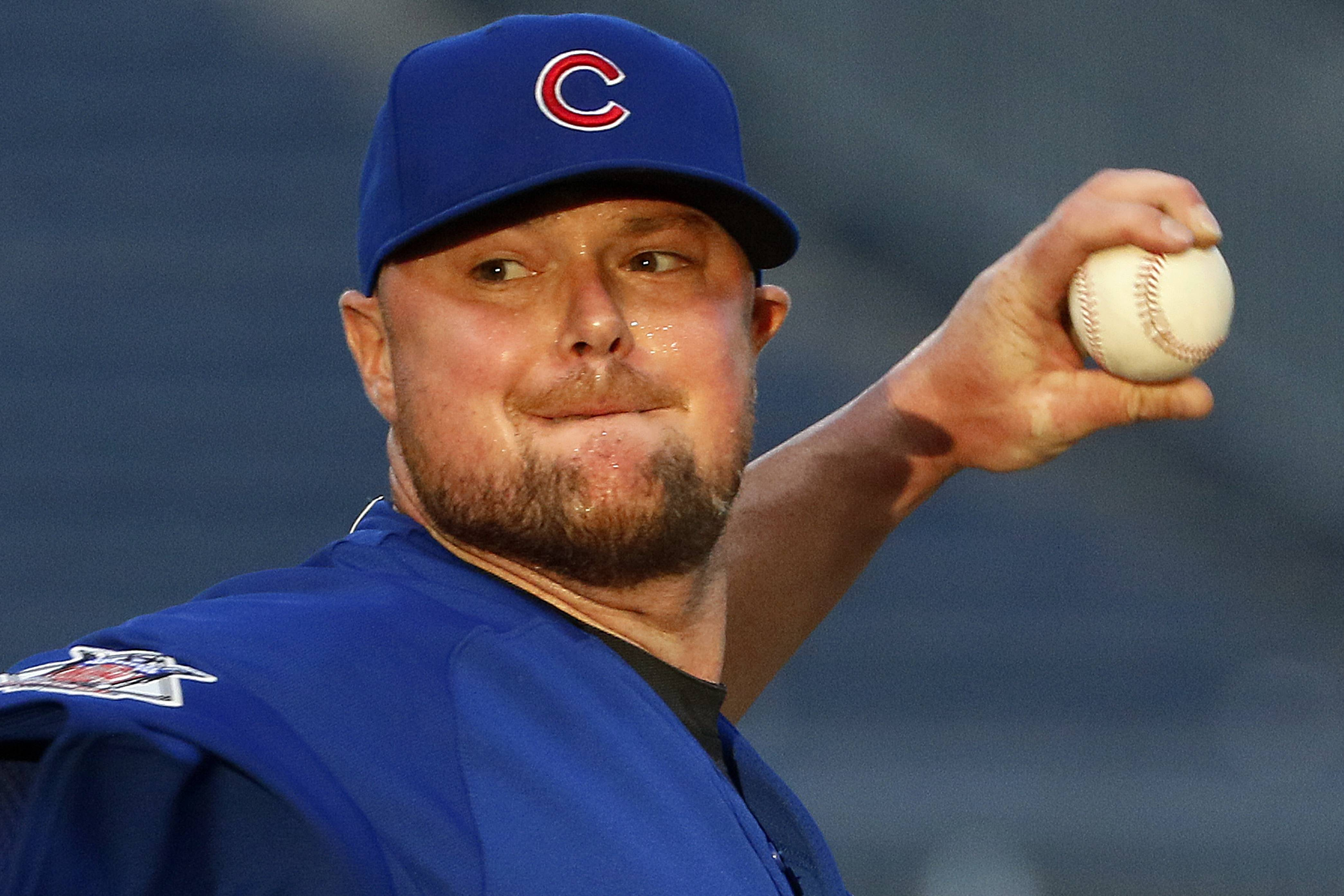 Associated PressChicago Cubs ace lefty Jon Lester finished April without a win. Lester fell to 0-1 Wednesday night during a 6-5 Cubs loss to the Pittsburgh Pirates at PNC Park.