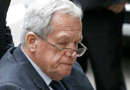 Illinois board to consider Hastert's state lawmaker pension