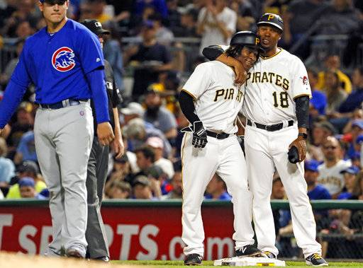 Pirates beat Cubs 6-5 as Ngoepe becomes first African in MLB