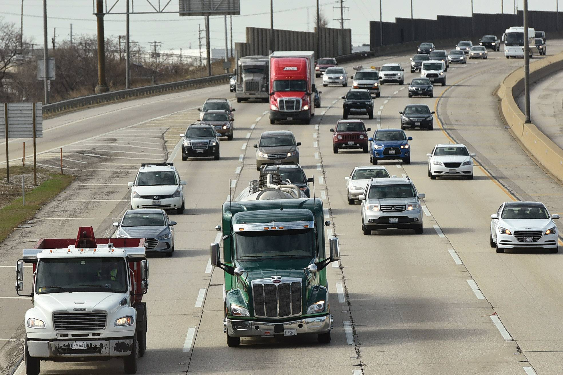 The Tri-State tollway will get a new lane in each direction plus interchange improvements.