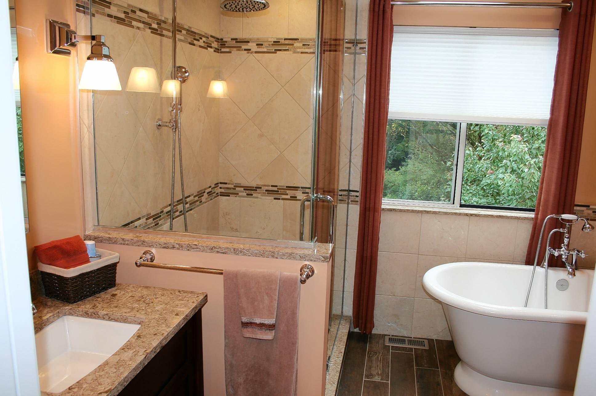 The common shower and tub have undergone a renaissance in design improvements since the 1950s and '60s.