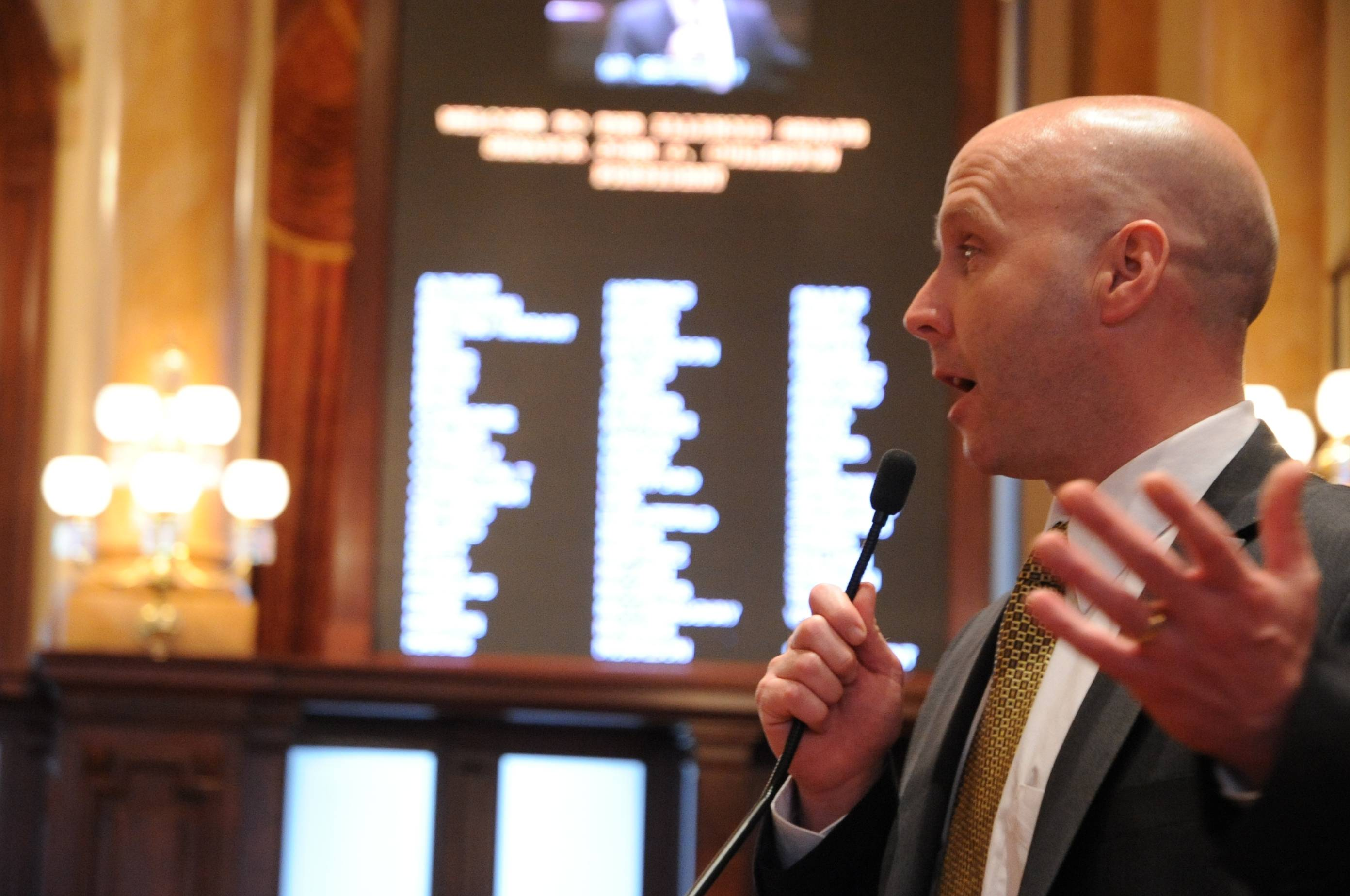 Tom Cullerton announces additional funding to combat opioid crisis