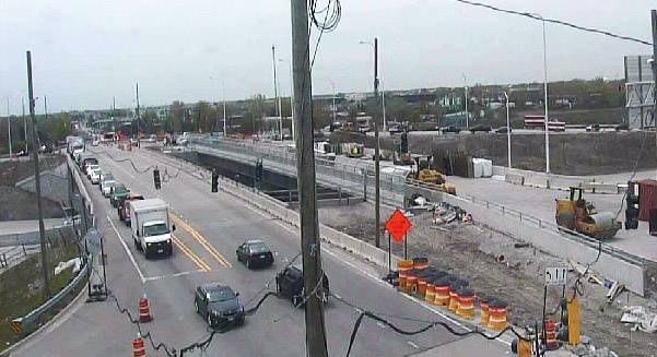 Ramps closing at I-90, Elmhurst Road in preparation for diamond interchange