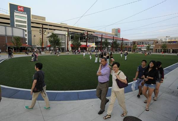 Rosemont S Bevy Of Restaurants And Entertainment Options Many Which Are At Mb Financial Park