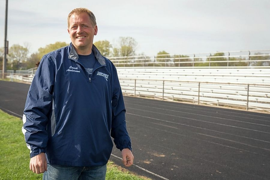 Longtime Cary-Grove girls track and field coach Mark Anderson was recently named the inspiring coach of the year by the Brooks Running Co.