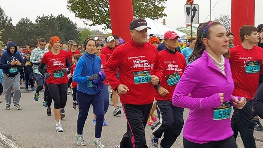 Organizers anticipate nearly 1,600 runners and walkers will take part in the DuPage Human Race on Saturday with a goal of raising $100,000 for nonprofit organizations at work in the community.
