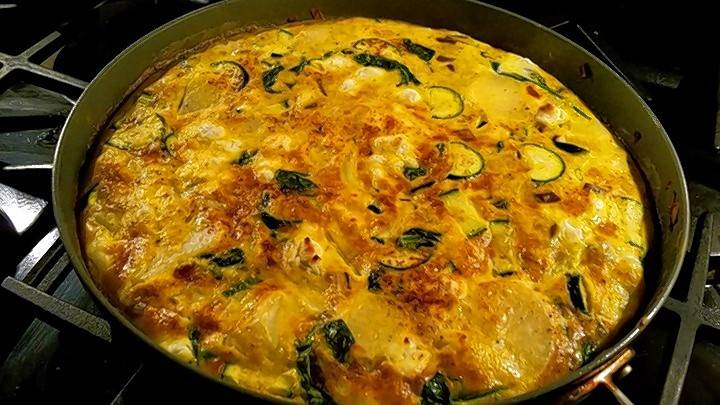 Try making this healthy frittata.