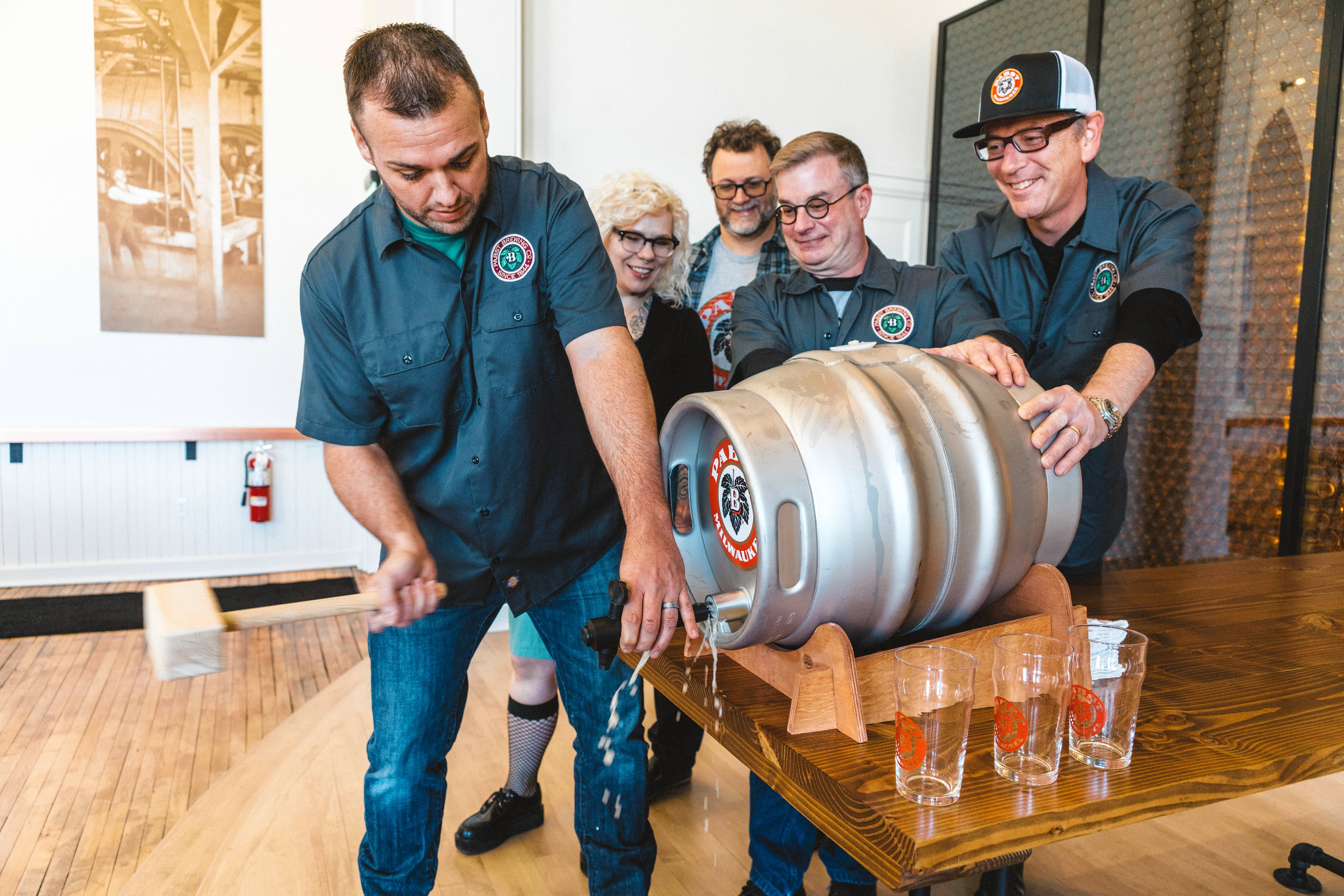 Pabst Milwaukee Brewery will kick off summer with a grand opening street festival in Milwaukee featuring live music, an art gallery, games and food along with Pabst Milwaukee Brewery beer Saturday, May 13.