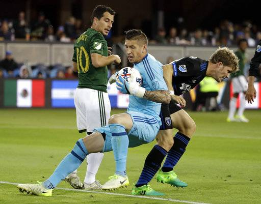 jose earthquakes florian jungwirth scores spark