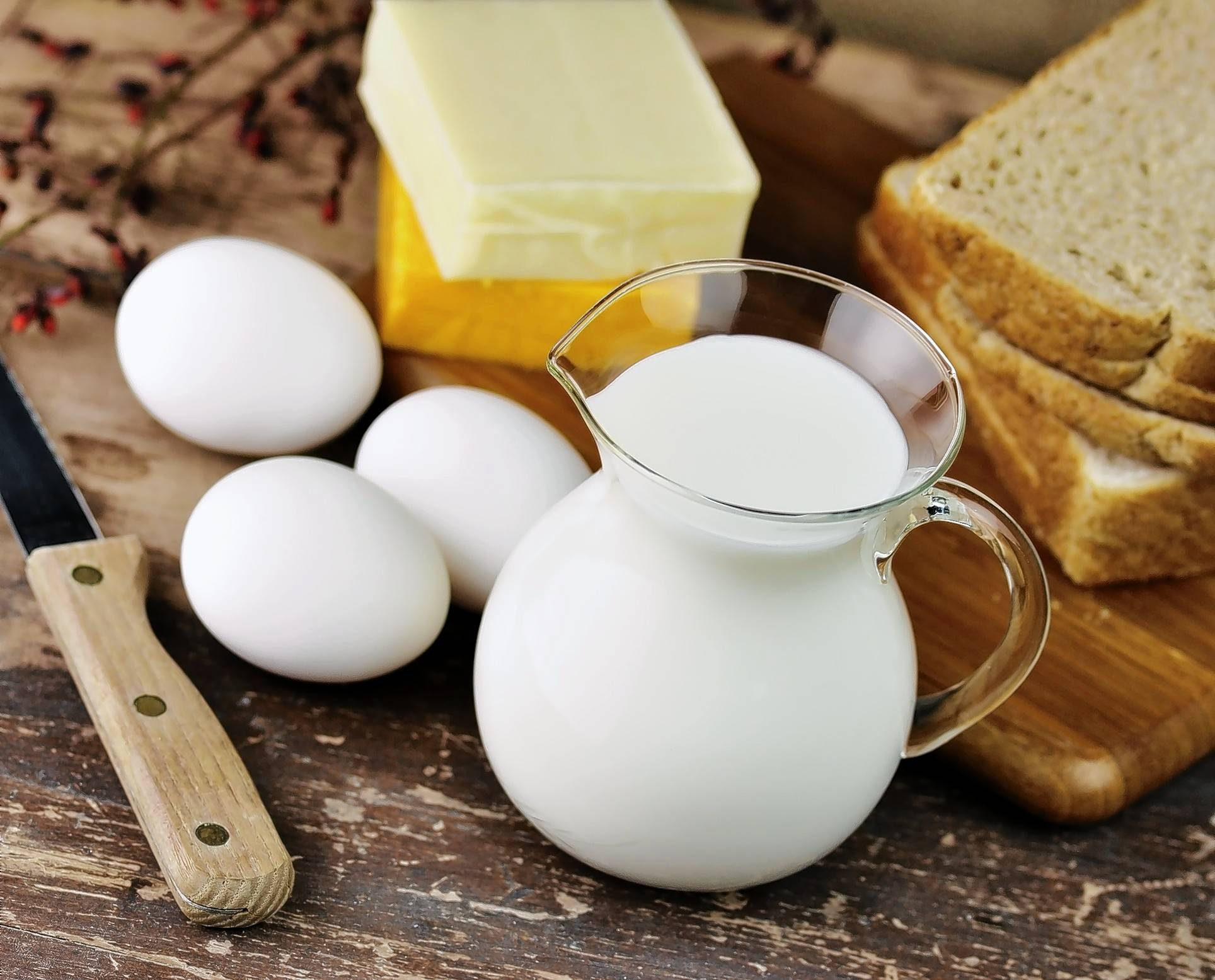 Ideas about whether foods such as eggs, milk, butter, cheese and bread are good for you to eat have changed over the years.