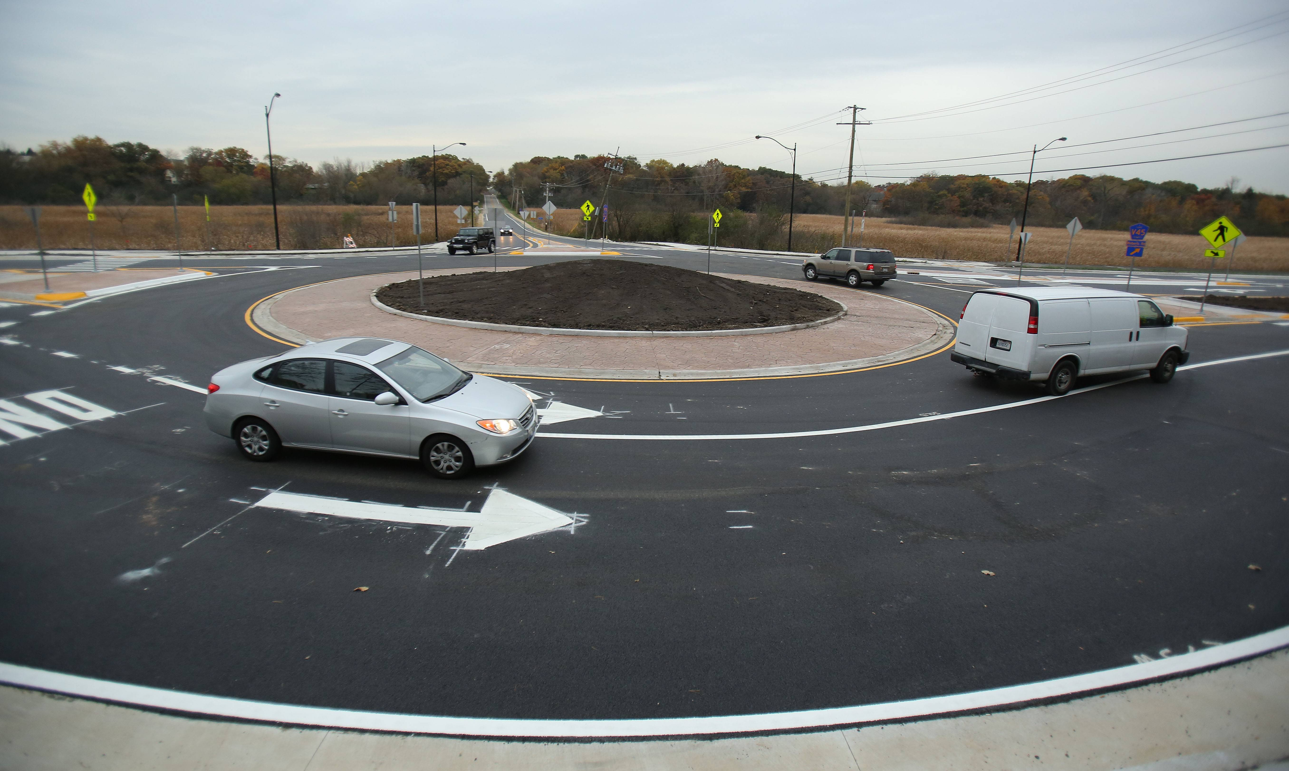 Can roundabouts save lives? Yes, and so can rumble strips, AAA says