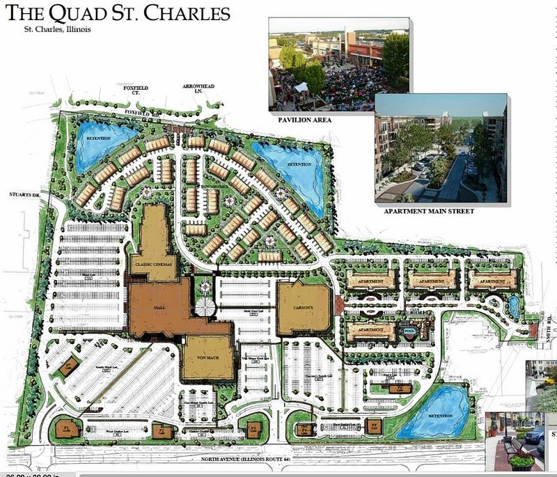 Apartment townhouse plan rings death knell for for Quad apartment plans