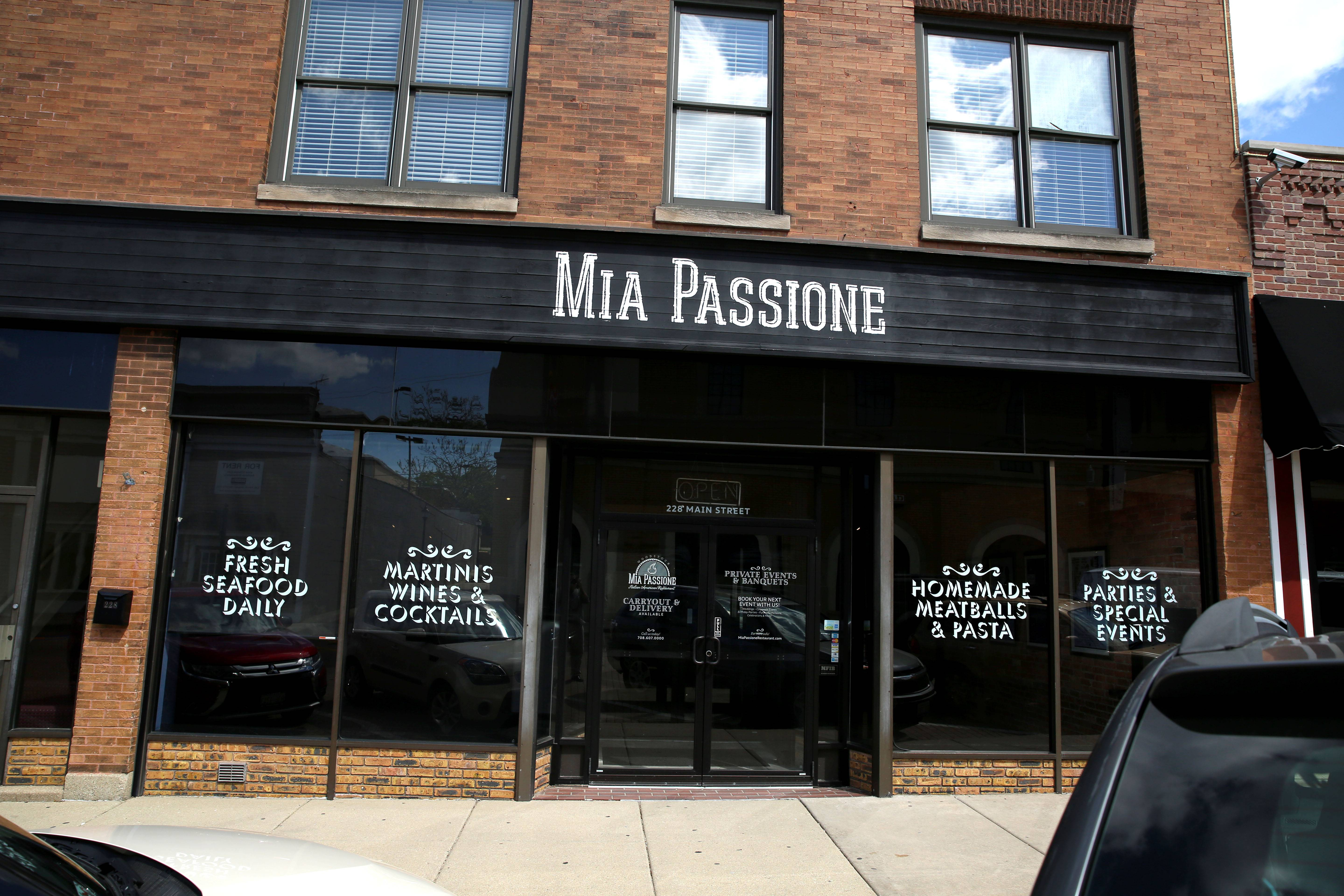 Mia Passione opened in Woodstock in early March.