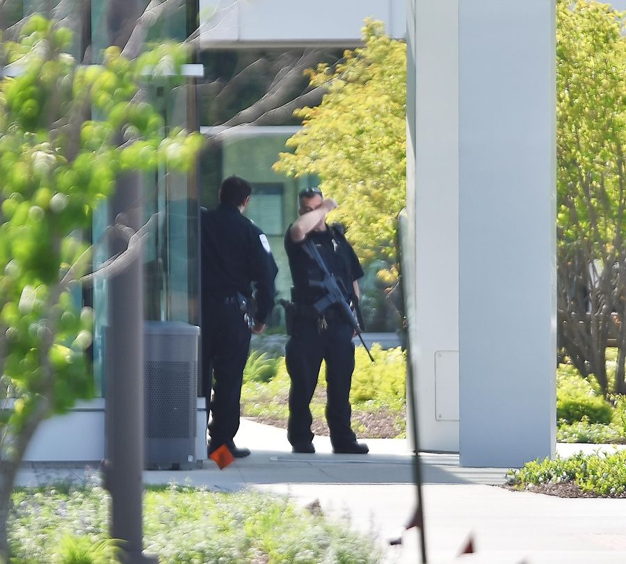 Kane County Sheriff's deputies and members of a SWAT team responded to Delnor Community Hospital in Geneva on Saturday after a jail inmate seized an officer's gun and took hostages. Industry experts say the event illustrates the risks hospital workers and patients can face.