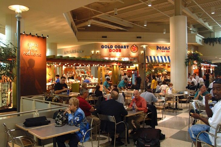 Restaurants are departing and arriving as Midway's food courts are upgraded.