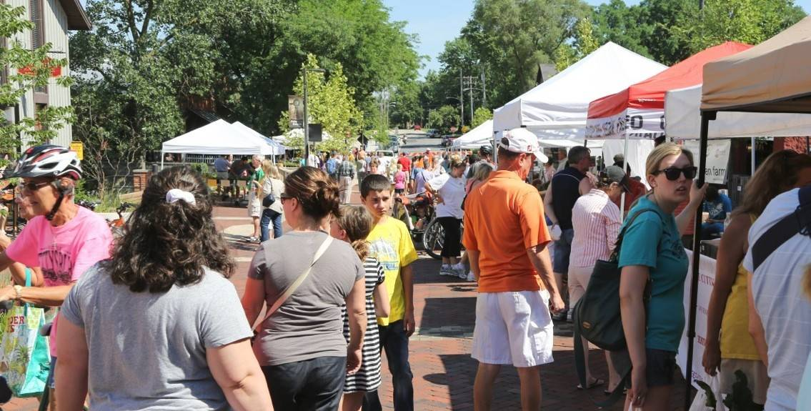 The Batavia farmers market returns Saturday, June 3, to downtown Batavia.
