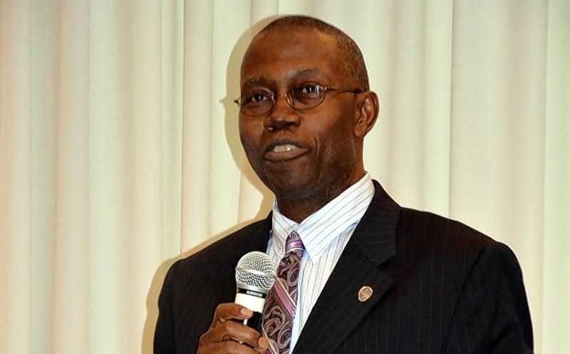 Sherman Jenkins, former head of the Aurora Economic Development Commission, will be sworn in Tuesday to fill the remainder of Mayor Richard C. Irvin's alderman-at-large term on the city council.