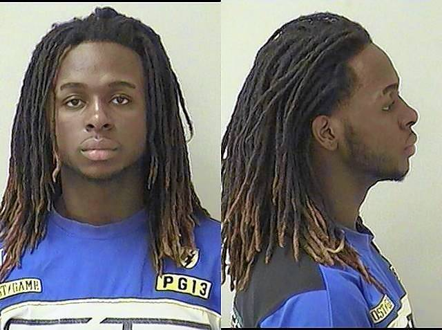 Damarcus D. Gilmore was being held on $150,000 bail.