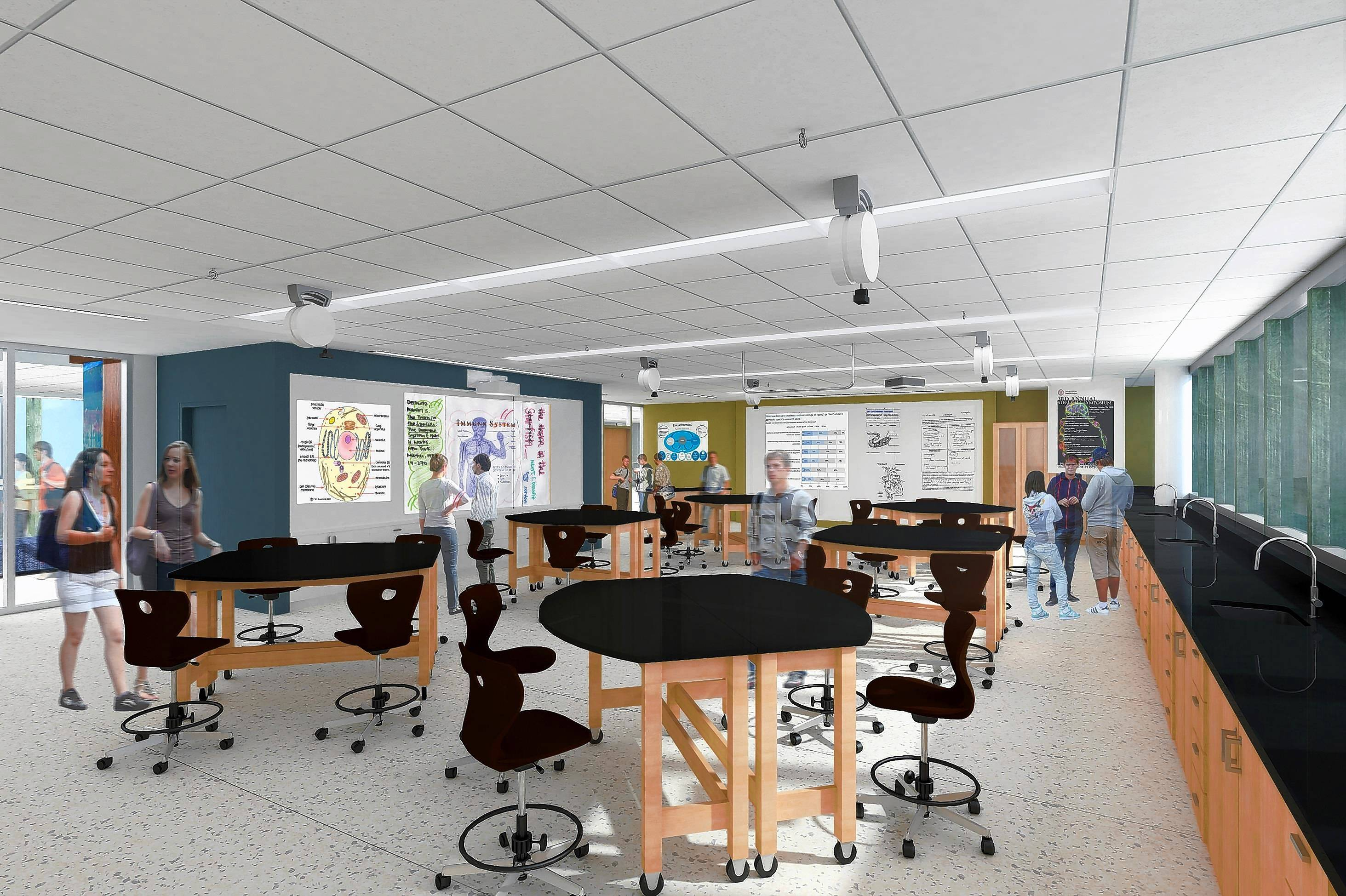 $28 million Stevenson addition aims to 'reinvent' the classroom